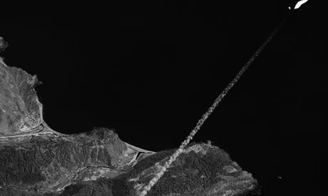satellite photo of north korea at night. satellite north korea at night