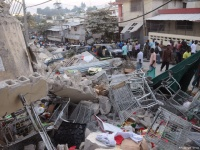 Devastation to Port Au Prince