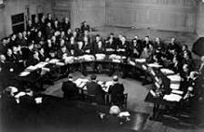 First Security Council In Session- 1946