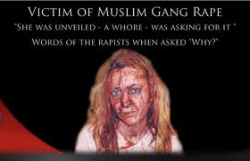 Victim Of Muslim Rape