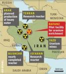 Iranian Nuclear Sites