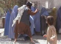 Afghan Women Beaten By The Taliban