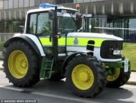 Police Tractor - Used For Chasing Farmers in The Countryside.