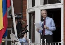 Assange in the Ecuadorian Embassy