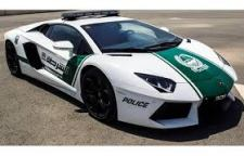Dubai Police Car - No Rattling Fords Here. Nothing But The Best!