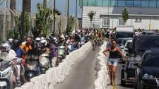 Qeues Waiting To Leave Deliberately Caused By Spanish Customs