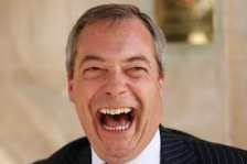 Nigel Farage. I Too Would Be Laughing If It Wasn't So Serious!