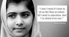 Malala - A Young Girl Shot By The Taliban For Wanting An Education
