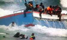 A Sinking Refugee Boat