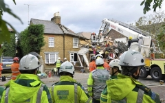 Storm Causes House To Collapse