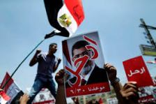 Demonstration Against Islamist P.M. Morsi.