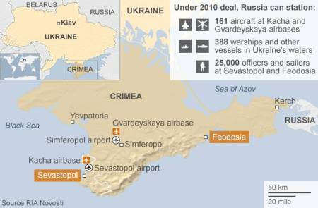 Russian Bases In The Crimea
