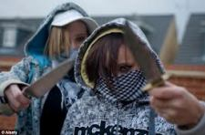 Young Girl's Also Carry Knives