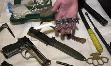 Weapons Collected In UK Schools