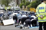 Praying In The Streets Of London And The Police Can Do Nothing For Fear Of The Discrimination Laws!