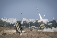 Israel's Iron Dome Protection.