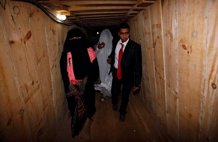 Senior Hamas Official Gives a Guided Tour.  Some Palestinians Even Got Married In The Tunnels