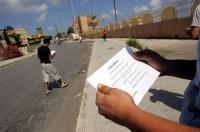 Israeli Leaflet Drop