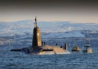 Britain's Nuclear Deterrent Based At Faslane