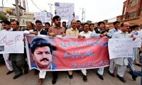 Pakistan Reporters Protest About ISIS Killing One Of Their Own