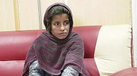 Spozhmay, A 10 Year-Old Girl Made To Wear A Vest In Afghanistan. She Was Caught When She Didn't Know How To Trigger It.