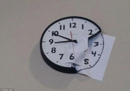 Damn! You dropped the clock and it broke. Well this DIY fix will set things rights. All it takes is a sheet of paper and a pen.