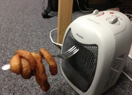 If your cooker breaks down just use an electric fan. Easy!