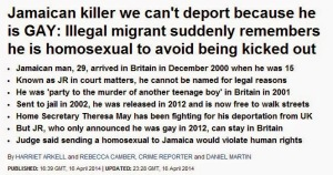Gay(?) Killer Avoids Deportation