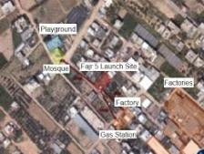 Hamas Launch Sites In Populated Area