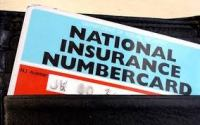 UK National Insurance Card
