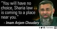 Hate preacher Anjem Choudray