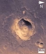 Mars Crater - Bomb Or Asteroid?