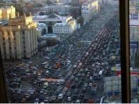 China - Guangzhou Traffic Jam