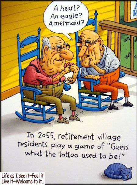Getting Old In 2055