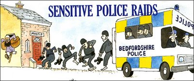 Police Raid A Muslim Home