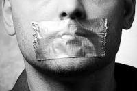 Blair's Idea Of Free Speech!