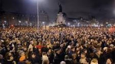 Thousands Gather In Solidarity With Charlie Hebdo
