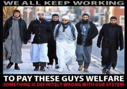 Muslim Benefit Scroungers