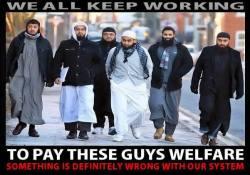 Muslim Benefit Scroungers