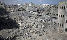 Gaza City In Ruins