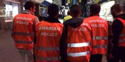 Muslim Sharia Police On The Streets Of London