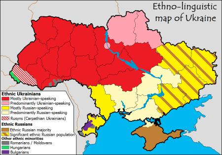 Ukraine Ethnicities