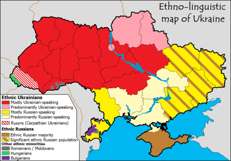 Ukraine Ethnicities