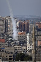 Hamas Rocket Fired From Civilian Area