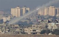 Hamas Rocket Firing On Israel