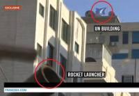 Rocket Launcher Beside UN Building