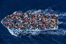 Asylum Seekers Make The Crossing 2014