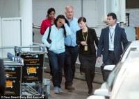 Chan Family Arrive Back In Sydney
