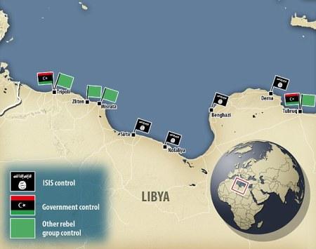 I.S. Taking Control Of Libya