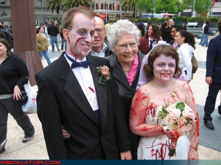 Obviously A Shot-Gun Wedding